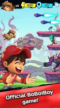BoBoiBoy Galaxy Run: Fight Aliens to Defend Earth! poster