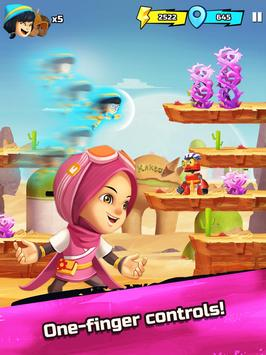 BoBoiBoy Galaxy Run: Fight Aliens to Defend Earth! screenshot 13