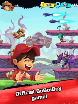 BoBoiBoy Galaxy Run: Fight Aliens to Defend Earth! screenshot 12