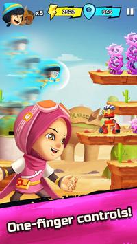 BoBoiBoy Galaxy Run: Fight Aliens to Defend Earth! screenshot 1