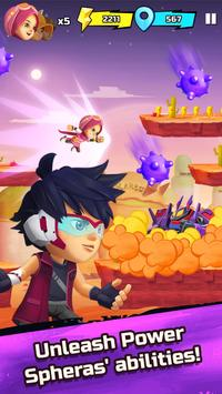 BoBoiBoy Galaxy Run: Fight Aliens to Defend Earth! screenshot 2
