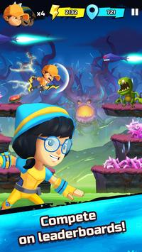 BoBoiBoy Galaxy Run: Fight Aliens to Defend Earth! screenshot 3