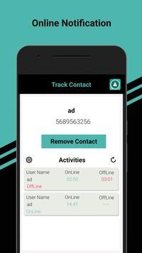Whats Tracker - Free Whatsapp Online Tracker poster