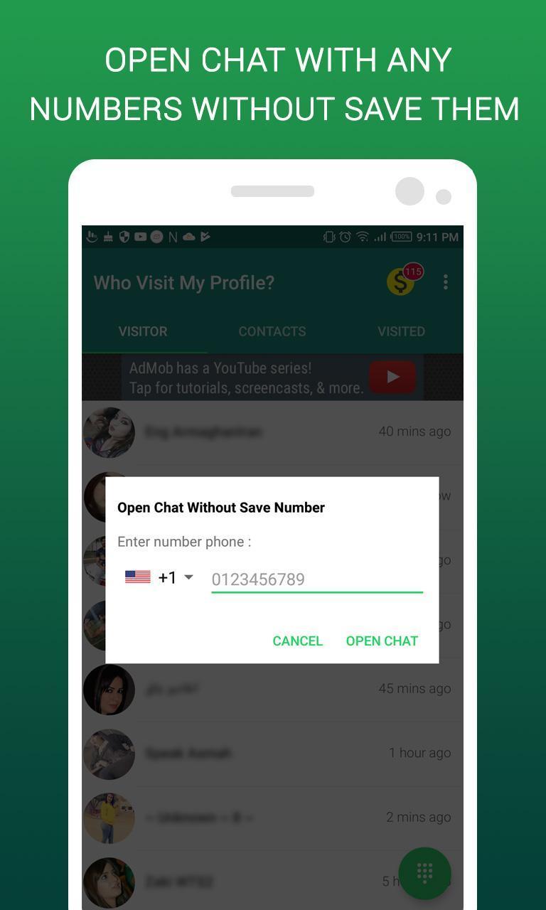 Auf whatsapp mein schaut profil wer Whatsapp Frage,