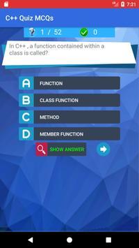 C++ Quiz App poster