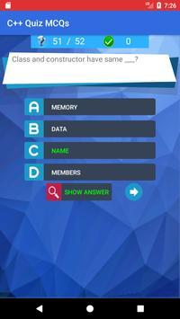 C++ Quiz App screenshot 1