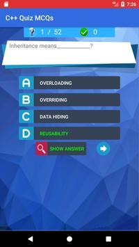 C++ Quiz App screenshot 2