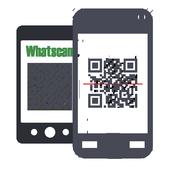 ikon Whatscan App for WhatsWeb