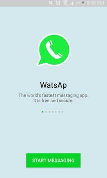 WatsAps Messenger poster
