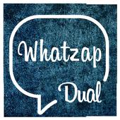 dual whatzap icon