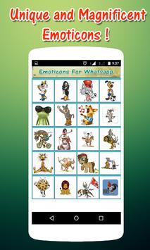 Free Emoticons For Whatsapp apk screenshot