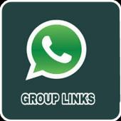 Whatsapp group links icon