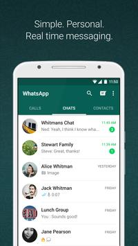 WhatsApp Messenger الملصق