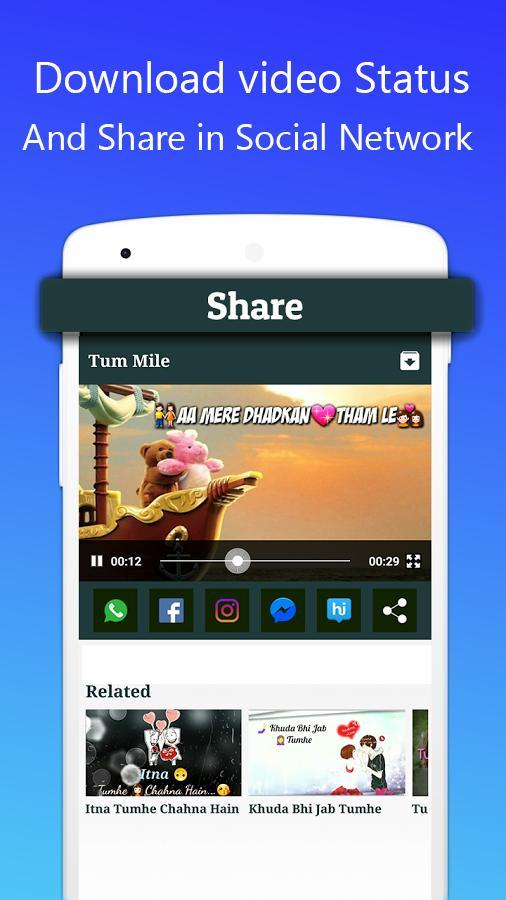 Video Status for Whatsapp (Lyrical, Love) for Android - APK