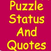 Puzzle Status And Quotes icon