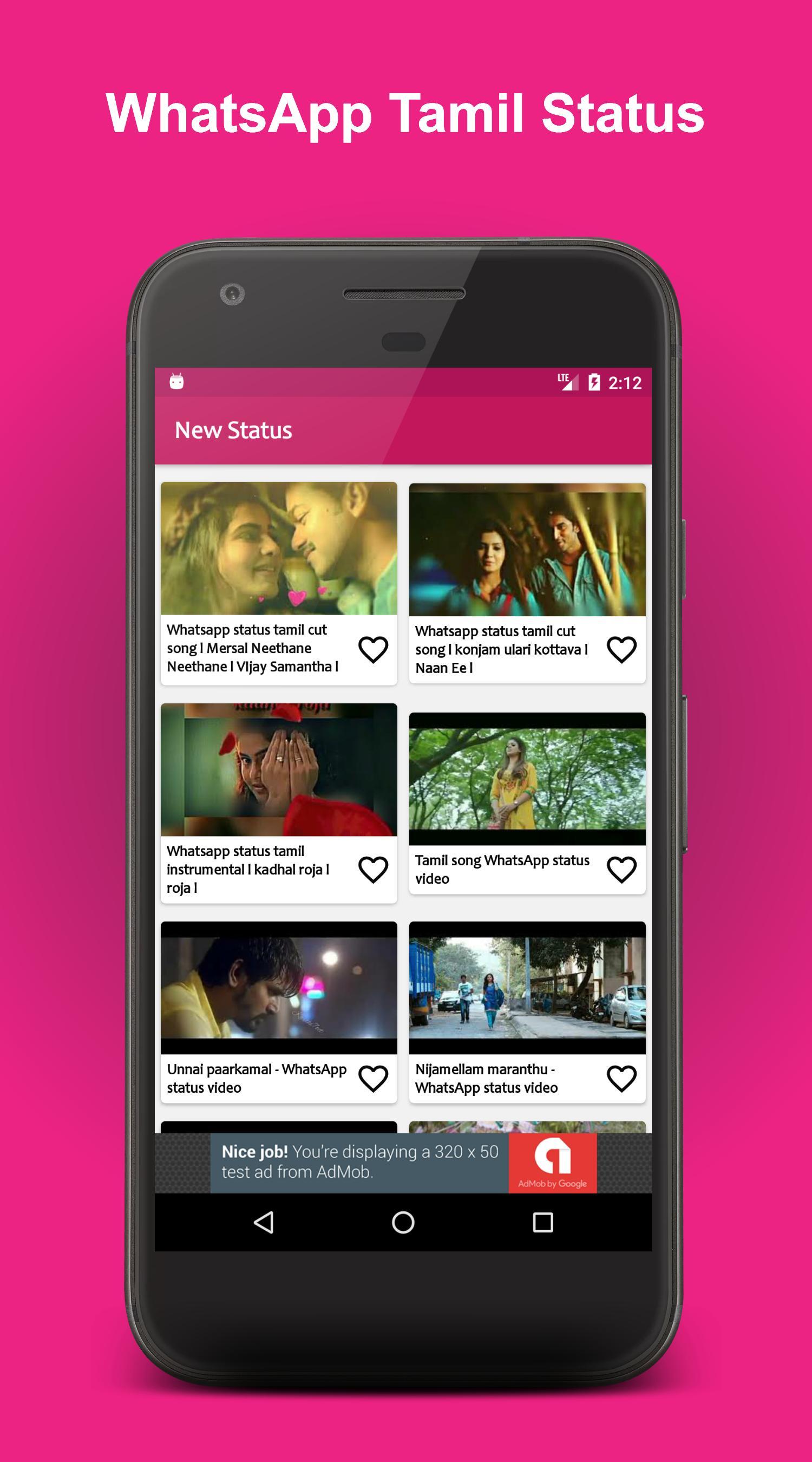 New Whatsapp Tamil Video Statusதமழ வடய