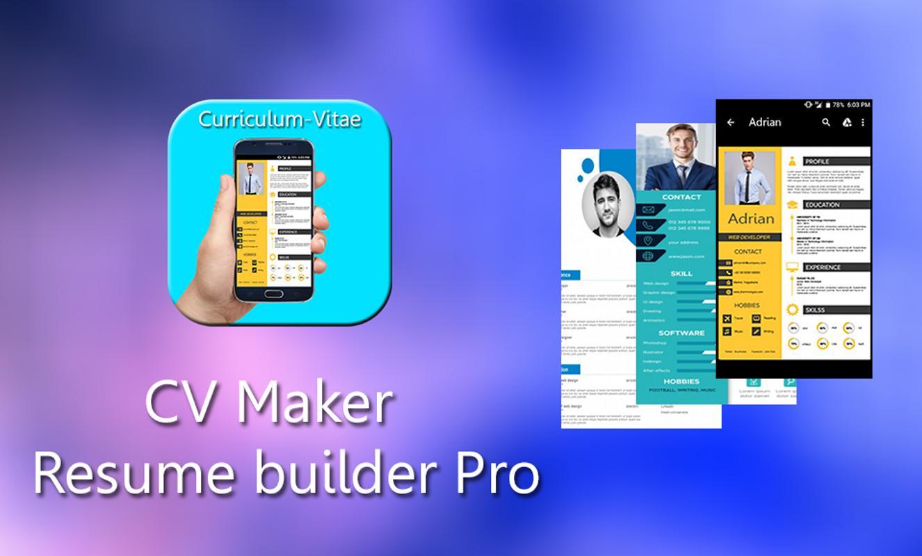 Cv Maker Resume Builder Pro Apk Get Resume Builder Pro 2019 01 20