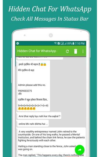 Hidden Chat For Whats Message Unseen Chat App For Android