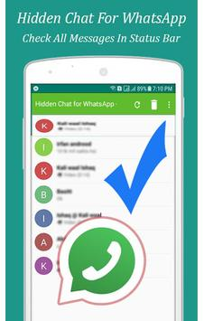 Hidden Chat for Whats Message- Unseen Chat App for Android