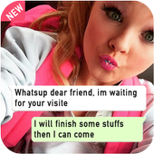 Whats Messages With Jojo Siwa Prank icon