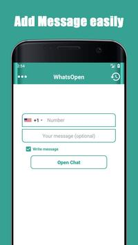 Open Whatsa Chat Without Save Number screenshot 4
