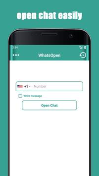 Open Whatsa Chat Without Save Number poster