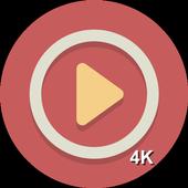 Free Video & Music Player HD 4K icon