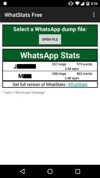 WhatStatsFree screenshot 1