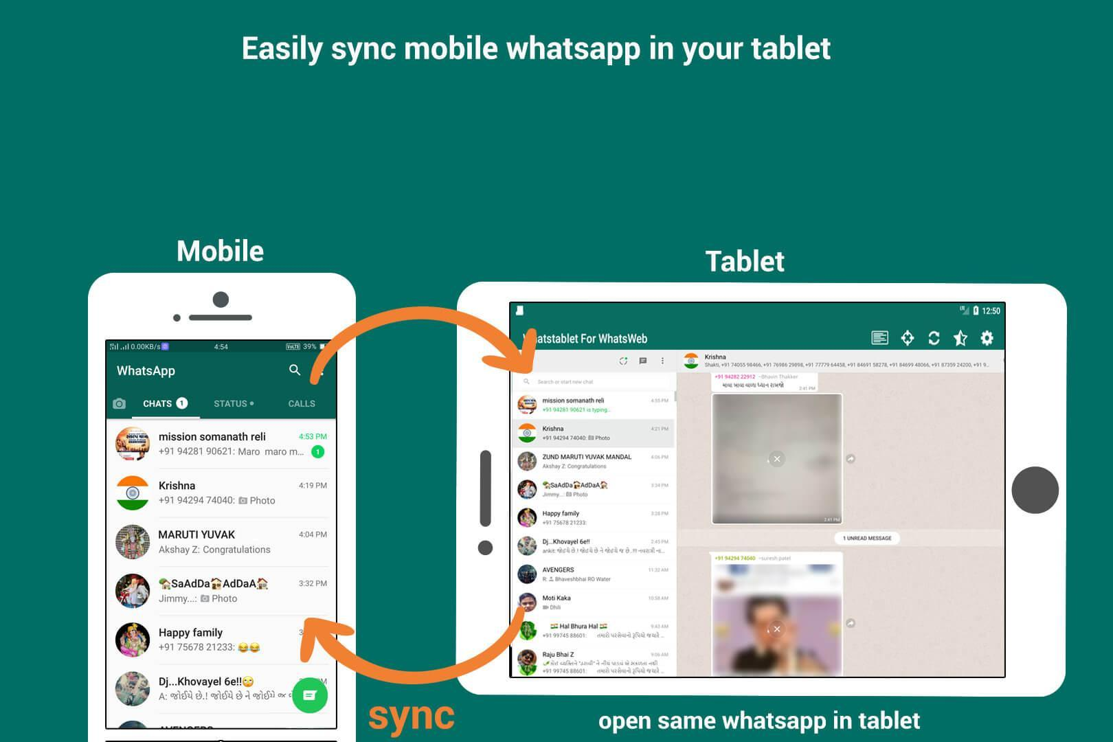 Tablet For WhatsApp Web for Android - APK Download