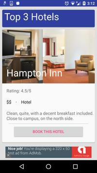 Champaign Urbana Travel Guide poster