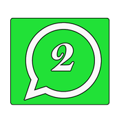 Watsapp 2 lines icône