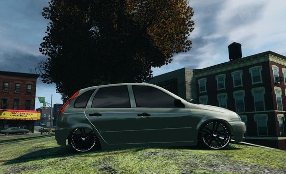 Lada Kalina simulator Racing screenshot 3