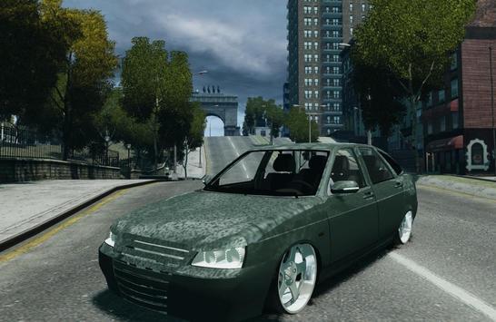Lada Kalina simulator Racing screenshot 4