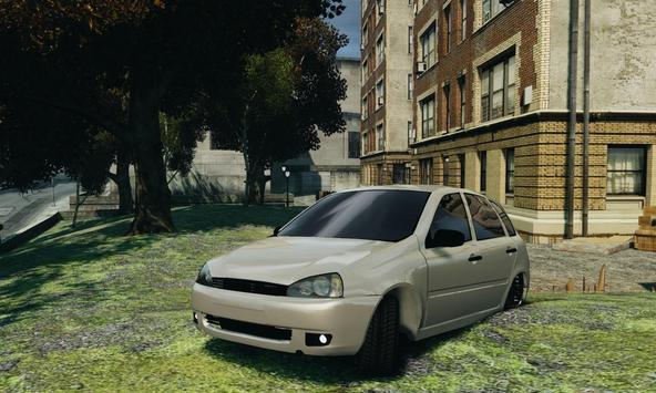Lada Kalina simulator Racing screenshot 9