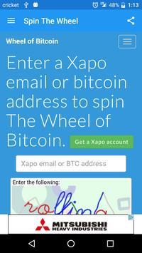 Wheel of Bitcoin screenshot 3
