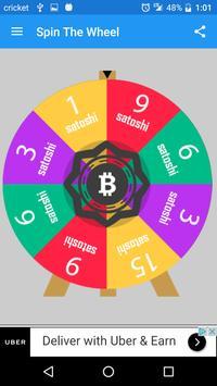 Wheel of Bitcoin poster