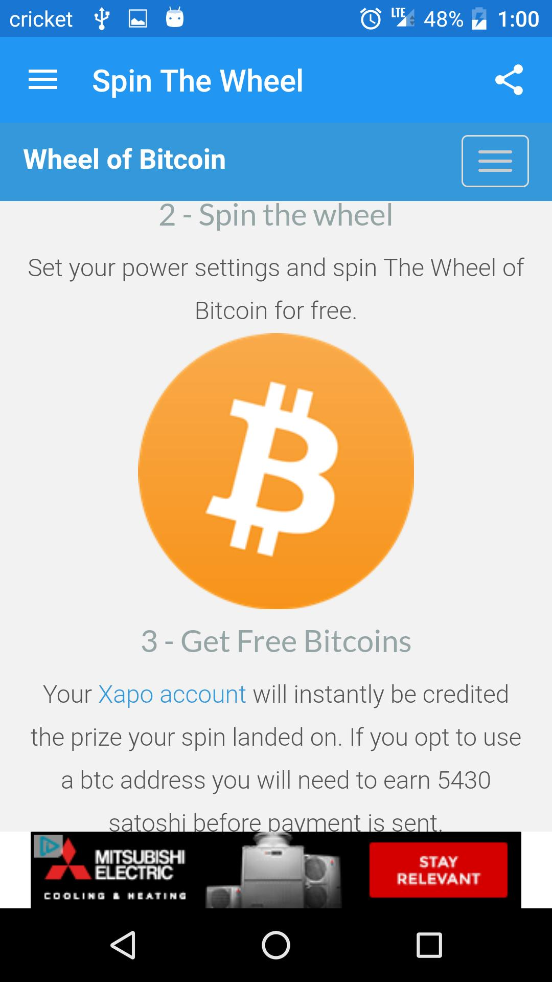 Wheel of Bitcoin for Android - APK Download