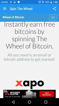 Wheel of Bitcoin screenshot 6