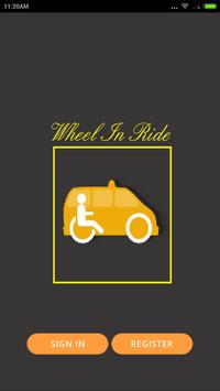 Wheel In Ride Driver poster