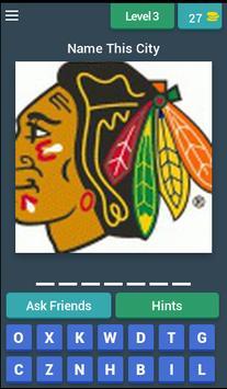 Hockey Logo Game captura de pantalla 2