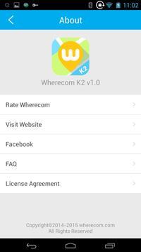 wherecom k2 apk screenshot