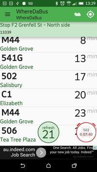 Adelaide metro - whereDaBus apk screenshot