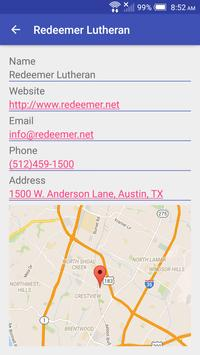 Austin Church Finder screenshot 2