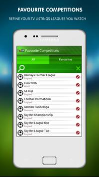 Live Football on TV apk screenshot