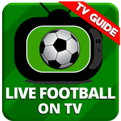 Live Football on TV icon