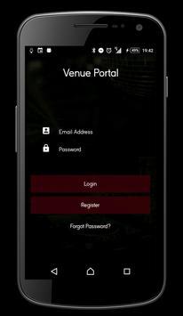 Venue Portal screenshot 1