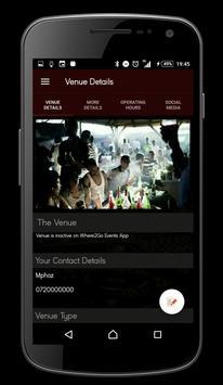 Venue Portal screenshot 3