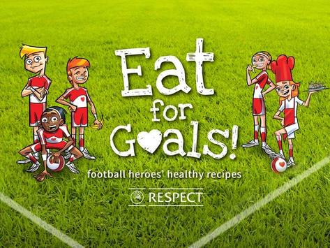 Eat For Goals poster