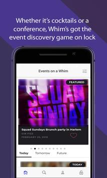 Events on Whim poster