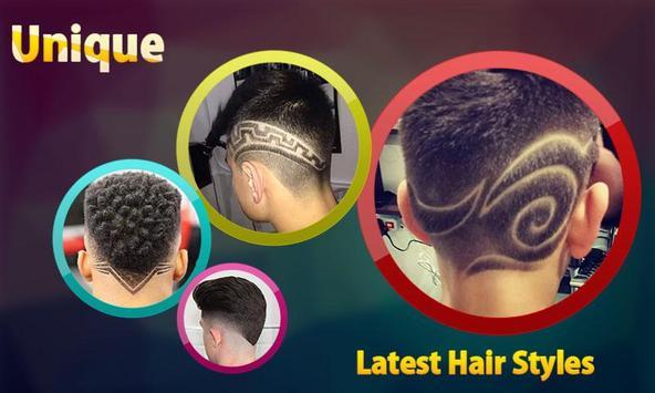 Stylish Boys Hair Styles 2017 poster